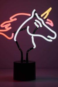 Unicorn Neon Desk Lamp